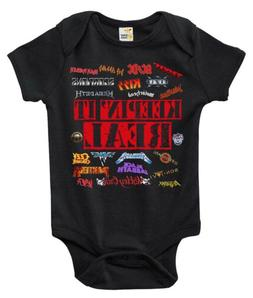 Baby Bodysuit - Keepin It Real Heavy Metal Baby Clothes for