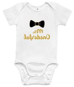 Baby Bodysuit - Mr. Onederful Baby Clothes One-year-old Infa
