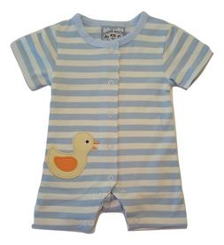 Baby Boys One-Piece Romper Playsuit - Duck Design - Choose I