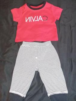Calvin Klein Baby Clothes Size 3 To 6 Months