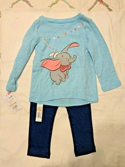 Baby - Clothing - Disney Dumbo Turquoise Top & Navy Leggings