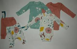 Baby girl clothes, Preemie, Carter's Little Planet Organic 5