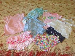Baby Girl's clothes lot 3 - 6 mo Children's Place Carter's C