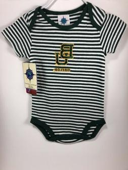 Baby One Piece 3-6 Months Baylor Bears by Creative Knitwear