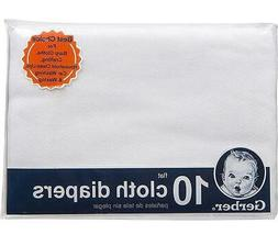 Gerber Baby Organic Cotton Flatfold Birdseye Reusable Cloth