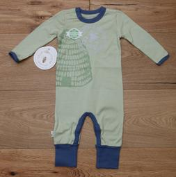 Burt's Bees Baby Boy Lightweight Non Footed Coverall~Organic