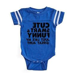 CafePress Cute Smart And Funny Like My Great Aunt Baby Footb