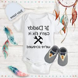 Funny Daddy Baby Boy Clothes Onesies Name Hat Shoes Baby Sho