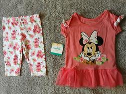 Disney baby girl infant clothes Sizes 12 mths and 24 mths