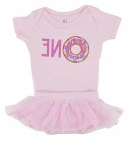 Girls First Birthday Tutu  Layette Set Outfit Infant Toddler
