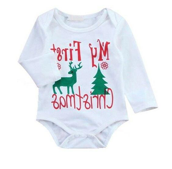 3Pcs Newborn Clothing Set Romper and Outfit