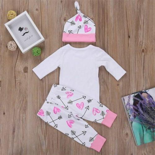 Newborn Toddler Baby Romper Tops Jumpsuit Outfits