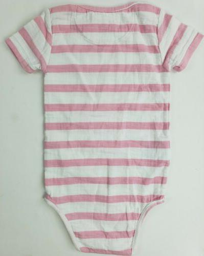 Aden Months Bodysuit Muslin Striped Baby Clothes Outfit