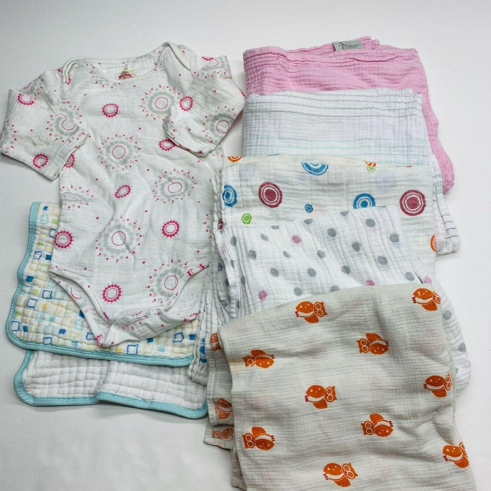 Swaddle Blanket Cloth 7 Baby Girls