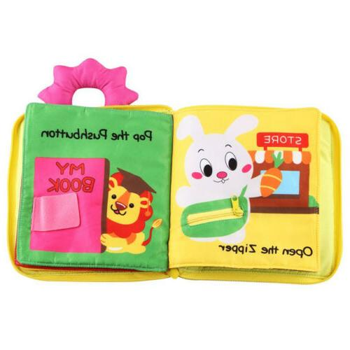 Baby Soft Touch Cloth Books Toy