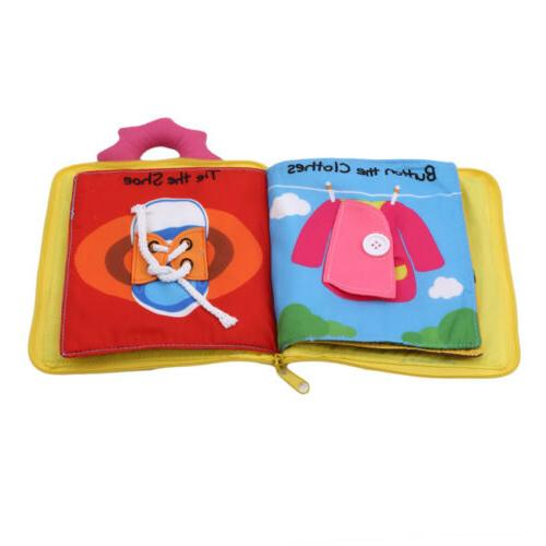 Baby Quiet Soft Touch Books Early Educational
