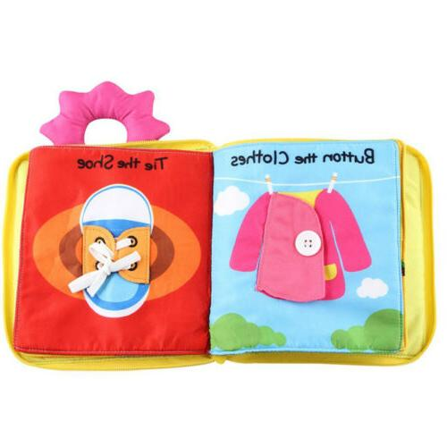 Baby Soft Touch Non-Toxic Books Early Educational Toy
