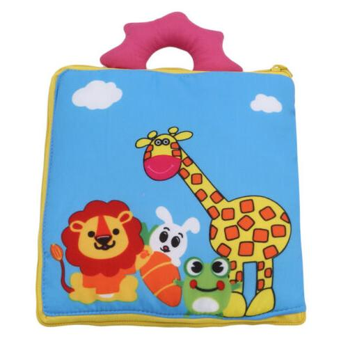 Baby Soft Cloth Books Educational