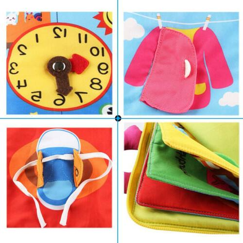 baby 3d quiet book soft touch non