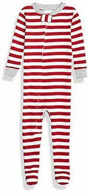 Essentials Kids Baby and Toddler Zip-Front Footed Sleeper,,