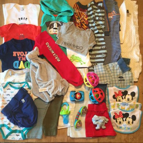 huge lot 30 baby boy clothes 6