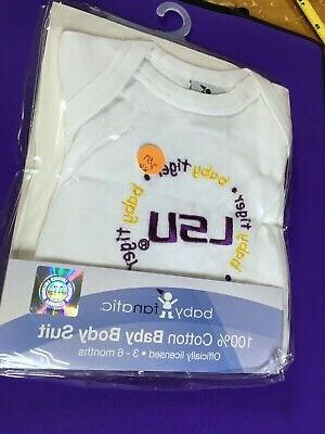 new Baby LSU TIGERS One-Piece Suit Months shower fan