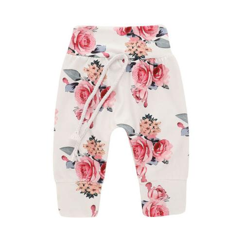 Newborn Baby Floral Tracksuit Toddler