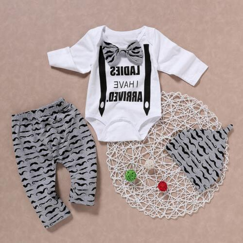 Newborn Baby Gentleman Clothes