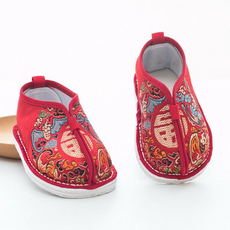 non-slip Tang suit Baby shoes Guofeng boys