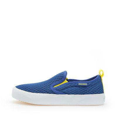 shoes junior baby slip on cloth royal