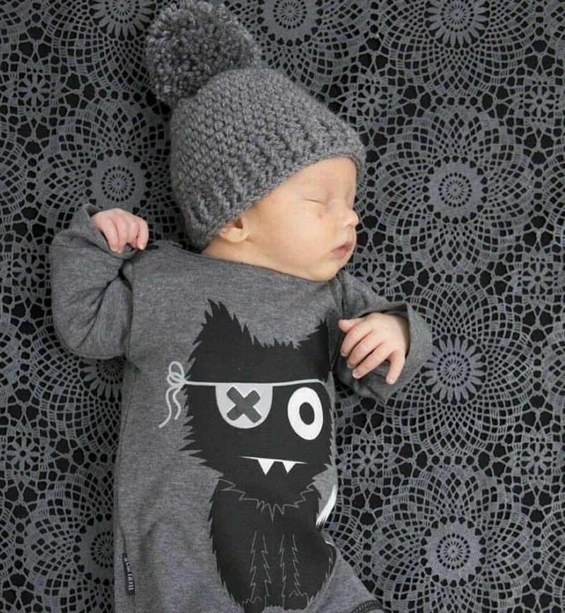 toddler infant baby clothes printed long sleeve