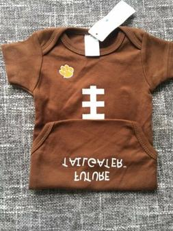 New NWT Clemson Tigers Baby Football Outfit 12-18 Months Fut