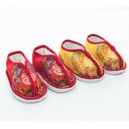 non-slip Tang suit shoes Baby handmade shoes Guofeng boys cl