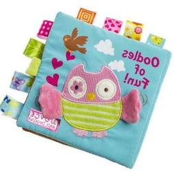 Owl Soft cloth colourful baby book  gift for kids educationa