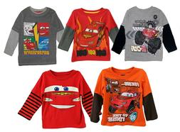 Shirt t Boy Toddler Baby Boys Tee Clothes Disney Cars Long S