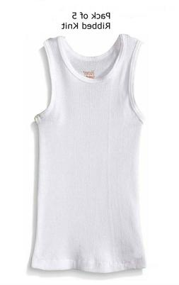 Hanes Toddler Kids Baby Boys' Undershirts 5 Pack Sleeveless